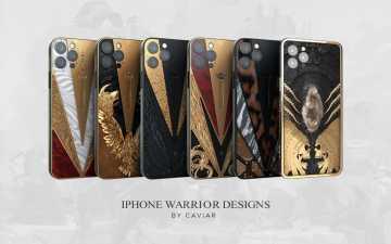 Коллекция iPhone 12 Pro Warrior от компании Caviar.