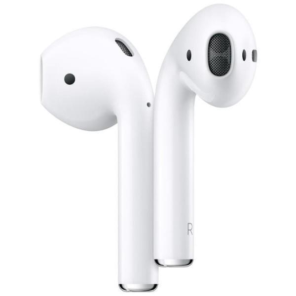 Apple AirPods наушники в зарядном футляре