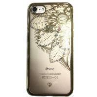 Чехол бампер iSecret для iPhone 7/8 (Золотой)
