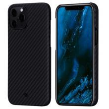 "Чехол Pitaka MagEZ Case для iPhone 12 Pro Max 6.7"", черно-серый, кевлар (арамид)"
