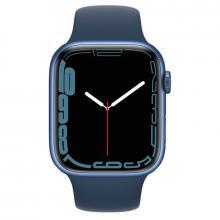 Apple Watch S7 41mm Blue Aluminum Case / Abyss Blue Sport Band