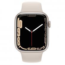Apple Watch S7 45mm Starlight Aluminum Case / Starlight Sport Band