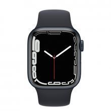 Apple Watch S7 41mm Midnight Aluminum Case / Midnight Sport Band