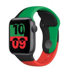 Apple Watch 6 44mm GPS Black Unity Aluminum Case with Sport Band