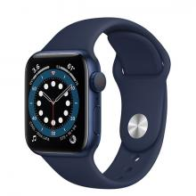 Apple Watch 6 44mm GPS Blue Aluminum Case with Blue Sport Band