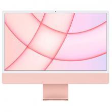 """Apple iMac 24"""" Retina 4,5K, (M1 8C CPU, 8C GPU), 8 ГБ, 512 ГБ SSD, розовый"""