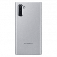 Чехол Samsung Clear View Cover Note10 Grey
