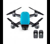Квадрокоптер Spark + 2 доп. батареи, голубой