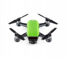 Квадрокоптер Spark Combo, зеленый