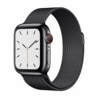 Apple Watch S5 40mm (Cellular) Space Black Stainless Steel / Black Milanese Loop
