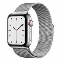 Apple Watch S5 44mm (Cellular) Stainless Steel / Milanese Loop